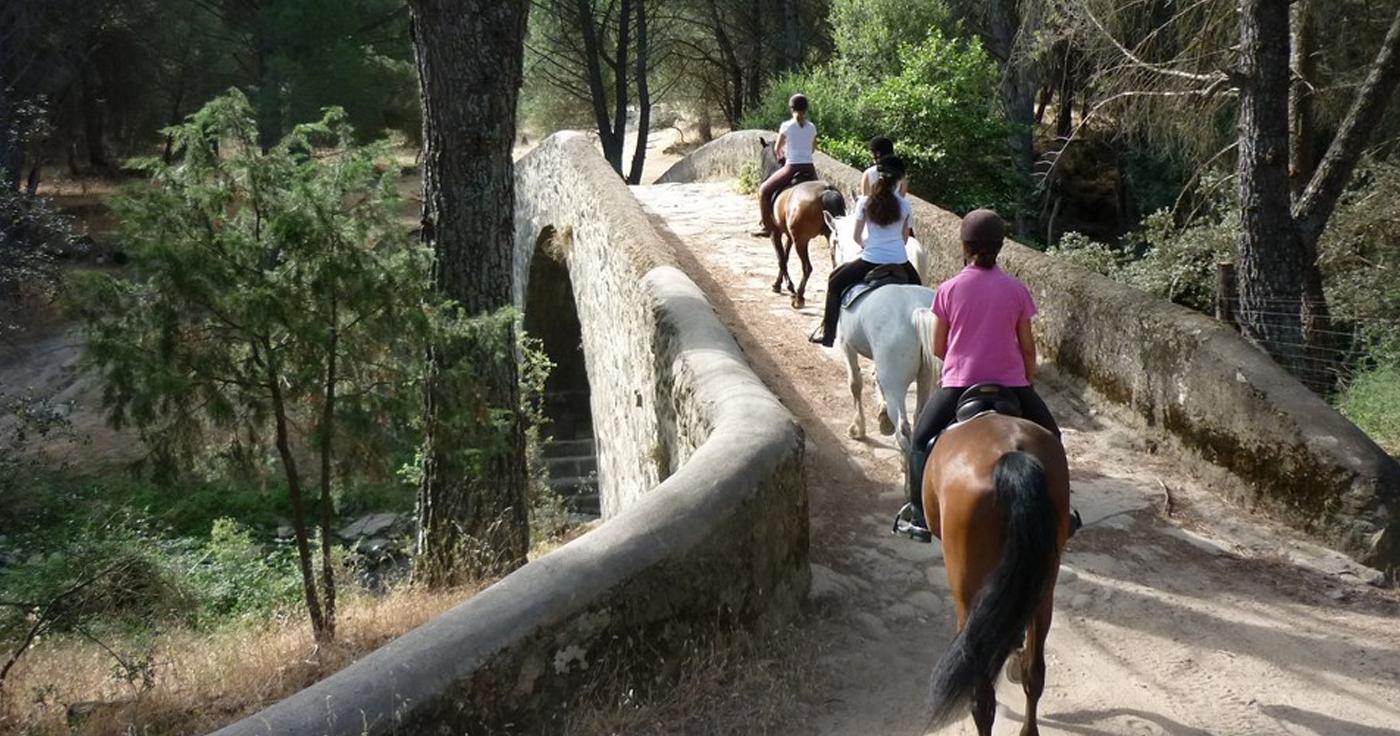 rutas a caballo en Tarifa